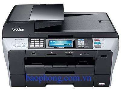 Máy in Phun màu Đa chức năng Brother MFC-6890 CDW (In không dây, đảo giấy, Scan, Copy, Fax)