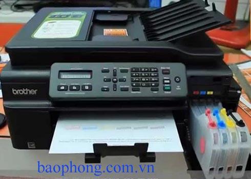 Máy in phun màu Đa chức năng Brother MFC J200 (in A4, Scan, Copy, Fax)