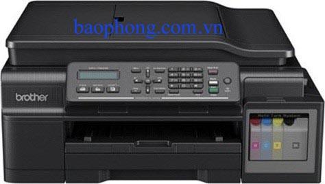Máy in Phun màu Đa chức năng Brother MFC T800W (In A4, Scan, Copy, Fax) wifi
