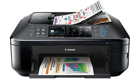 Máy in Phun màu Đa chức năng Canon E610 (In, Scan, Photo, Fax) - Khổ A4