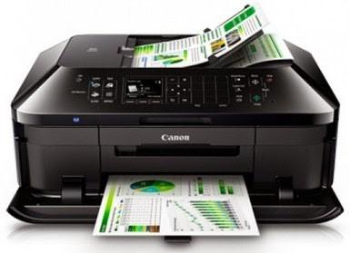 Máy in Phun màu Đa chức năng Canon Pixma MX397 (in A4, quét, copy, fax)