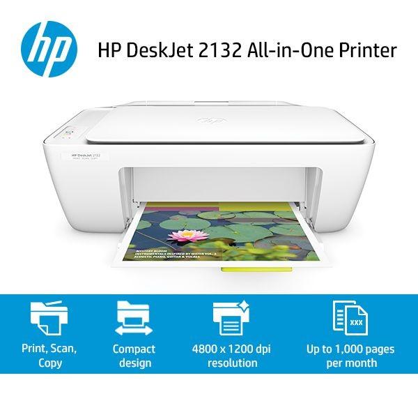 Máy in Phun màu Đa chức năng HP DeskJet 2132 (in,scan, copy)