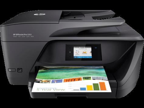 Máy in Phun màu Đa chức năng HP OfficeJet Pro 6960 AIO